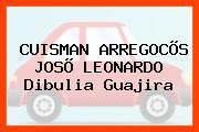 CUISMAN ARREGOCÕS JOSÕ LEONARDO Dibulia Guajira