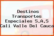 Destinos Transportes Especiales S.A.S Cali Valle Del Cauca