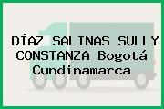 DÍAZ SALINAS SULLY CONSTANZA Bogotá Cundinamarca