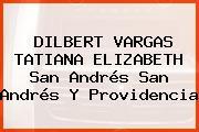 DILBERT VARGAS TATIANA ELIZABETH San Andrés San Andrés Y Providencia