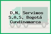 D.N. Servimos S.A.S. Bogotá Cundinamarca