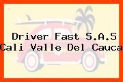 Driver Fast S.A.S Cali Valle Del Cauca
