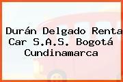 Durán Delgado Renta Car S.A.S. Bogotá Cundinamarca