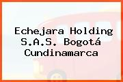 Echejara Holding S.A.S. Bogotá Cundinamarca