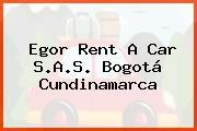 Egor Rent A Car S.A.S. Bogotá Cundinamarca