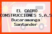 EL CAIRO CONSTRUCCIONES S.A.S Bucaramanga Santander