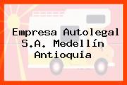 Empresa Autolegal S.A. Medellín Antioquia