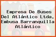 Empresa De Buses Del Atlántico Ltda. Embusa Barranquilla Atlántico
