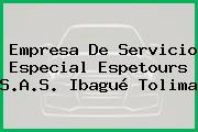 Empresa De Servicio Especial Espetours S.A.S. Ibagué Tolima