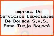 Empresa De Servicios Especiales De Boyaca S.A.S. Emse Tunja Boyacá