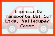 EMPRESA DE TRANSPORTE DEL SUR LTDA. Valledupar Cesar