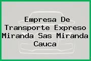 Empresa De Transporte Expreso Miranda Sas Miranda Cauca