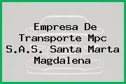 Empresa De Transporte Mpc S.A.S. Santa Marta Magdalena