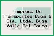 Empresa De Transportes Buga & Cía. Ltda. Buga Valle Del Cauca
