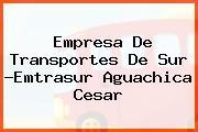 Empresa De Transportes De Sur -Emtrasur Aguachica Cesar