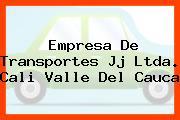 Empresa De Transportes Jj Ltda. Cali Valle Del Cauca