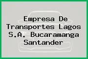 Empresa De Transportes Lagos S.A. Bucaramanga Santander