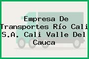 Empresa De Transportes Río Cali S.A. Cali Valle Del Cauca