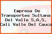 Empresa De Transportes Sultana Del Valle S.A.S. Cali Valle Del Cauca