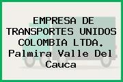 EMPRESA DE TRANSPORTES UNIDOS COLOMBIA LTDA. Palmira Valle Del Cauca