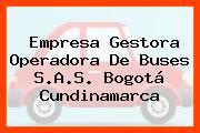 Empresa Gestora Operadora De Buses S.A.S. Bogotá Cundinamarca