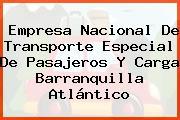 Empresa Nacional De Transporte Especial De Pasajeros Y Carga Barranquilla Atlántico