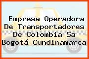 Empresa Operadora De Transportadores De Colombia Sa Bogotá Cundinamarca