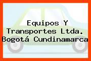 Equipos Y Transportes Ltda. Bogotá Cundinamarca