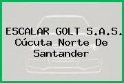 ESCALAR GOLT S.A.S. Cúcuta Norte De Santander