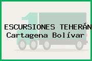 ESCURSIONES TEHERÁN Cartagena Bolívar