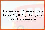 Especial Servicios Japh S.A.S. Bogotá Cundinamarca
