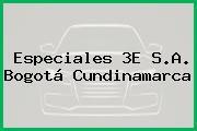 Especiales 3E S.A. Bogotá Cundinamarca