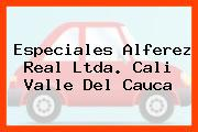 Especiales Alferez Real Ltda. Cali Valle Del Cauca
