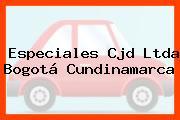Especiales Cjd Ltda Bogotá Cundinamarca