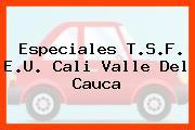 Especiales T.S.F. E.U. Cali Valle Del Cauca