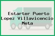 Estarter Puerto Lopez Villavicencio Meta