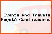 Events And Travels Bogotá Cundinamarca