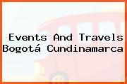 Events And Travels Bogotá Cundinamarca