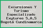 Excursiones Y Turismo Especializado Exytures S.A.S Bogotá Cundinamarca
