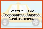 Exittur Ltda. Transporte Bogotá Cundinamarca