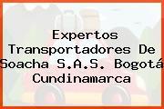 Expertos Transportadores De Soacha S.A.S. Bogotá Cundinamarca