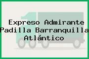 Expreso Admirante Padilla Barranquilla Atlántico
