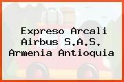 Expreso Arcali Airbus S.A.S. Armenia Antioquia