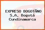 EXPRESO BOGOTÃNO S.A. Bogotá Cundinamarca