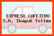 EXPRESO CAFETERO S.A. Ibagué Tolima
