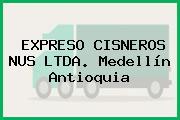 EXPRESO CISNEROS NUS LTDA. Medellín Antioquia