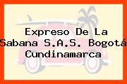 Expreso De La Sabana S.A.S. Bogotá Cundinamarca
