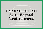 EXPRESO DEL SOL S.A. Bogotá Cundinamarca