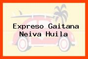 Expreso Gaitana Neiva Huila