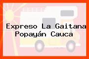 Expreso La Gaitana Popayán Cauca